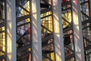 Kirchenfenster seite