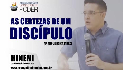[HEAP 10/17] AS CERTEZAS DE UM DISCÍPULO