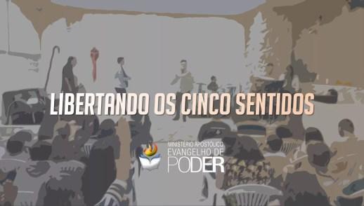 LIBERTANDO OS CINCO SENTIDOS
