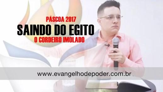 SAINDO DO EGITO - O CORDEIRO IMOLADO - ÊXODO 12