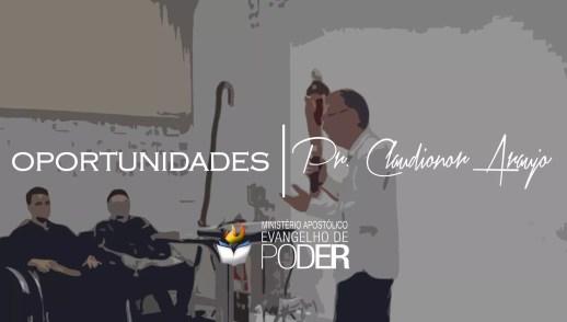 OPORTUNIDADES - PR CLAUDIONOR ARAUJO