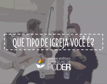 QUE TIPO DE IGREJA VOCÊ É? | Ap. Miquéias Castreze Ft. Pr Anderson Correia