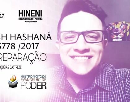 [HEAP 37/17 - 1/2] ROSH HASHANA A PREPARAÇÃO - 5778 / 2017