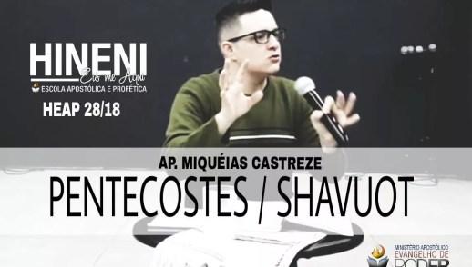 PENTECOSTES / SHAVUOT / COLHEITA , FESTA DE [HEAP 28/18]