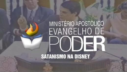 SATANISMO NA DISNEY - JOSUÉ YRION