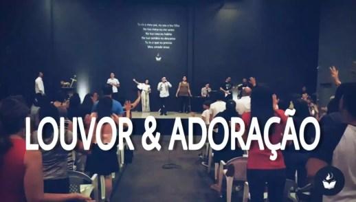 LOUVOR E ADORAÇÃO - DOMINGO APOSTÓLICO (16, DEZ 2018)