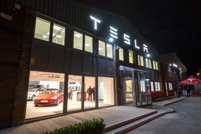 Tesla Store Dublin