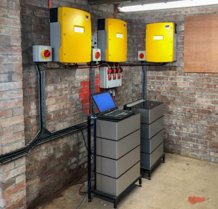 Arbarr Battery at the Harvey Group, Belfast