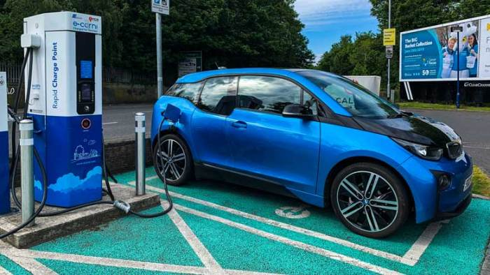 Charging EV