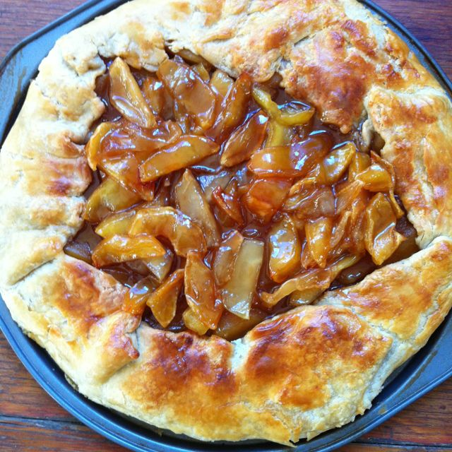 Evan's Caramelized Apple Gallette