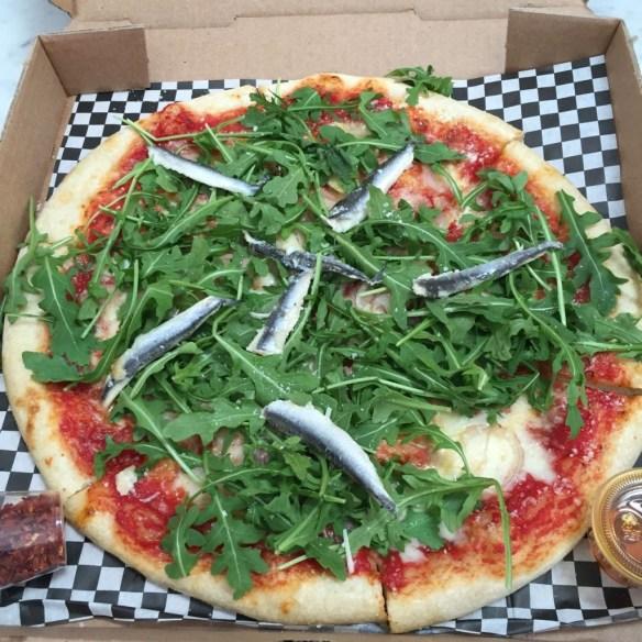 Delicious Pizza in West Adams, Los Angeles