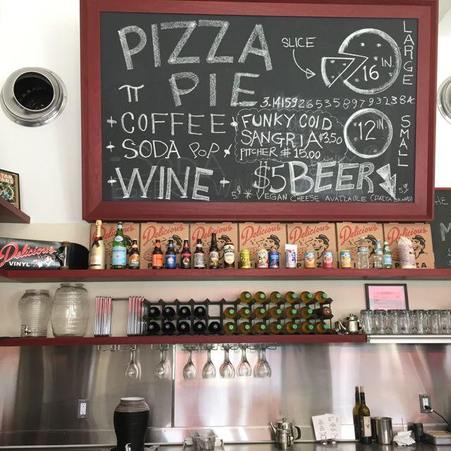 Delicious Pizza on Adams in LA