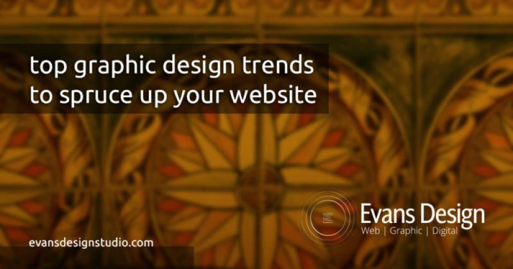 top graphic design trendsto spruce up your website