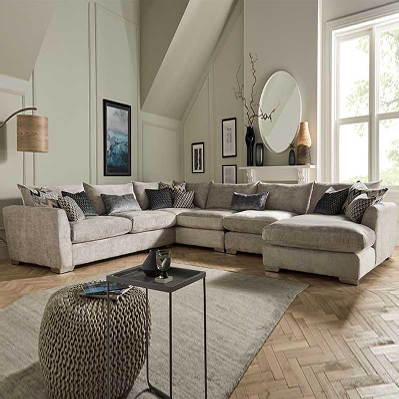 michigan corner sofa with chaise