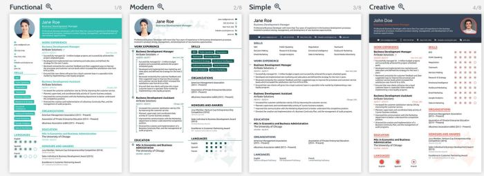 Resume Templates from Novo Resume