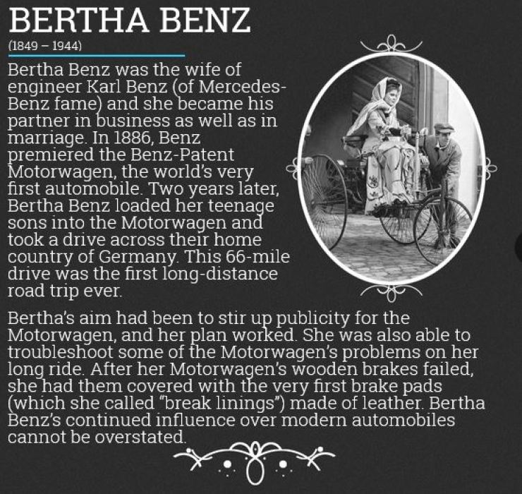 Female Automotive Pioneers