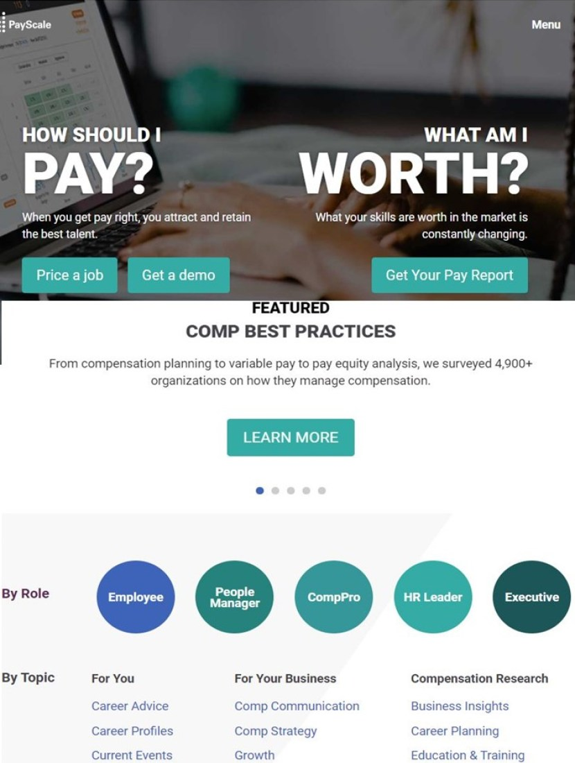 Great Salary Tools from PayScale