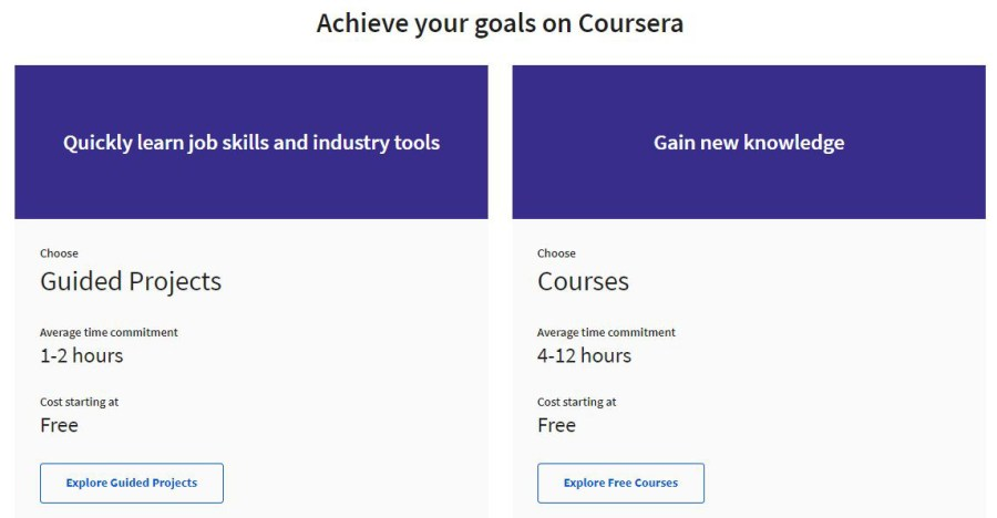 Using Coursera to Improve Your Career Skills