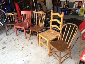 Come November, the Boys in the Basement will be sitting in these very chairs, trying to rebuild their shattered lives.