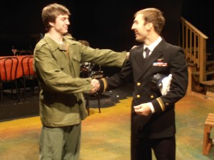 Jack Ruocco and Stephen Cavill in Remembrance.