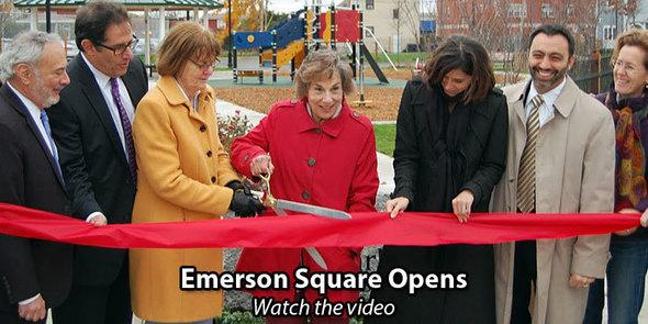 Emerson Square ribbon cutting