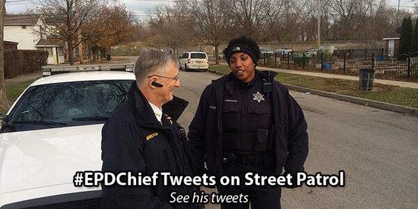 Police Chief Tweets
