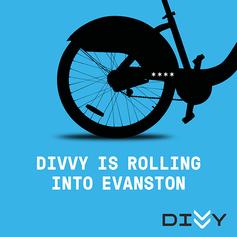 Divvy Evanston ad