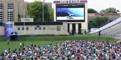 NU Movie Night at Ryan Field