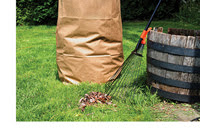 Yard waste bag (with white border)