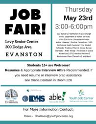May 23 Job Fair 2019