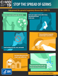 Stop Spread of Germs (CDC)