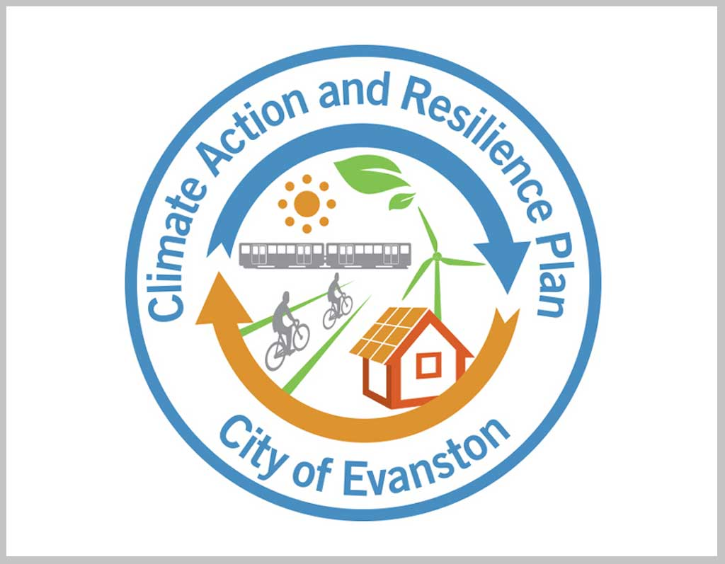 Climate Action and Resilience Plan for City of Evanston logo