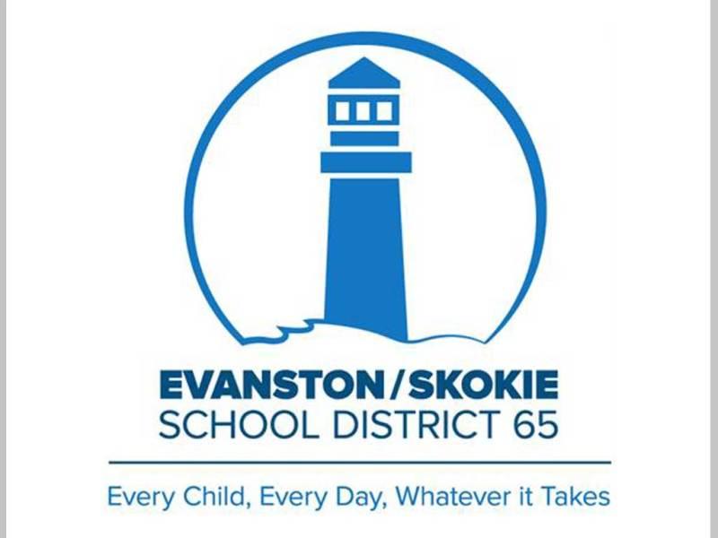 School District 65 Evanston/Skokie logo