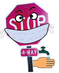 The Traffic Guy with a mask