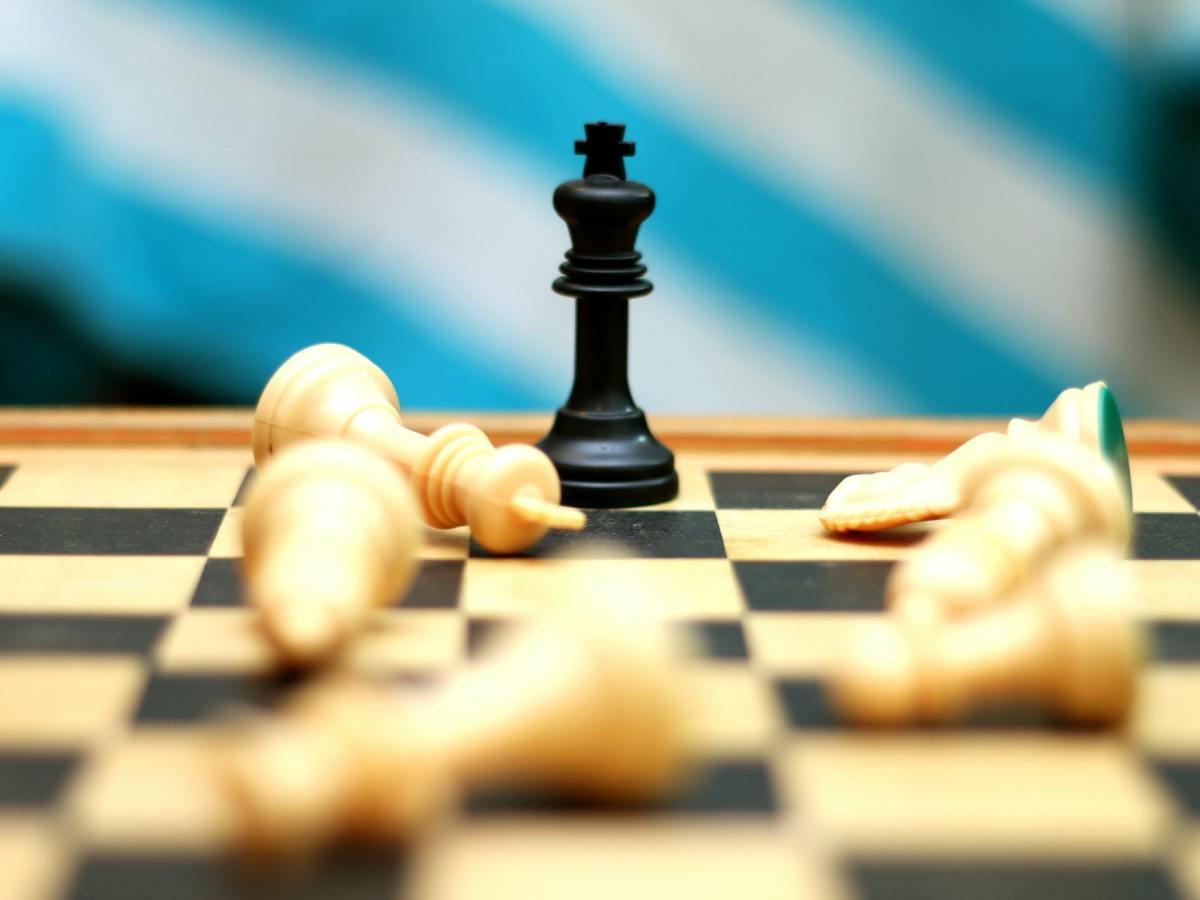 Chess board phot