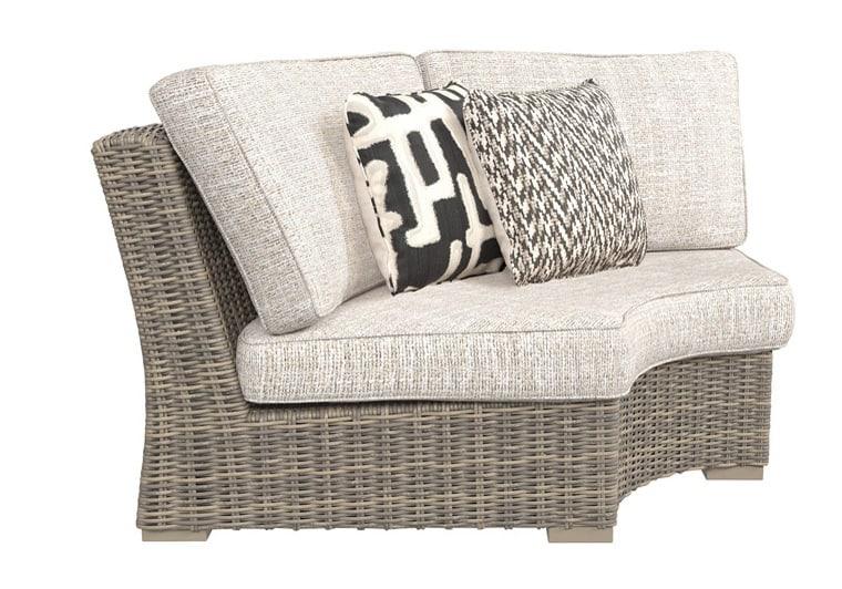 Beachcroft Beige 3Pc Patio Set | Evansville Overstock ... on Beachcroft Beige Outdoor Living Room Set  id=69984