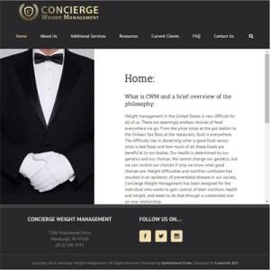 concierge-weight-management-website