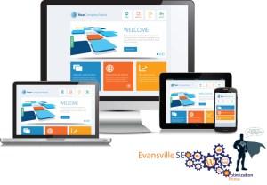 Evansville Search Engine Optimization mobile responsive website design