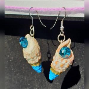 Seashell earrings EJdesigns evaogmalthe.dk (2)