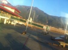 Rodeados de montañas:)