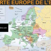 Carte Europe de l'est - Images