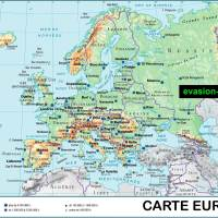 Carte d'Europe Images et Photos