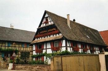 Maison à Colombage - Chauffeur VTC Geispolsheim