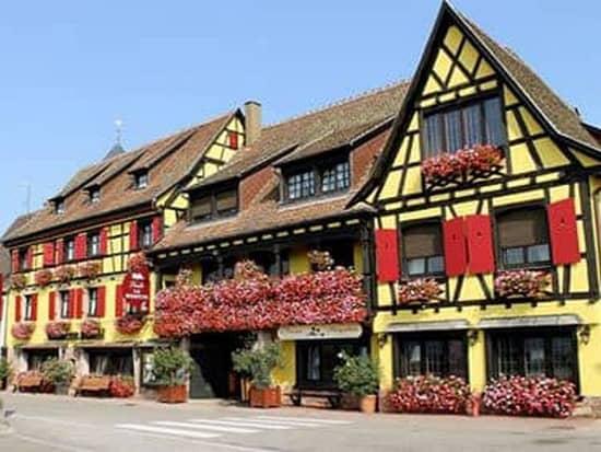 Hôtel Restaurant Arnold à Itterswiller - Chauffeur Privé VTC - Evasion Cars