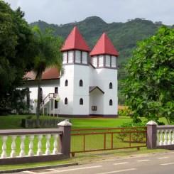 Eglise d'Haapiti