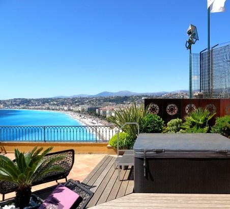 Solarium Hotel La Perouse Nice
