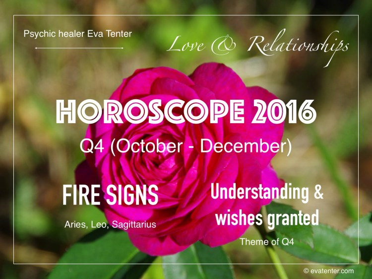 love relationships horoscope q4 2016 fire signs