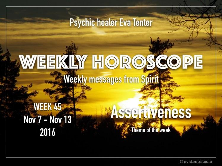 weeklyhoroscope week45