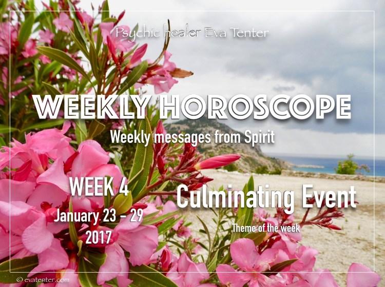 weekly horoscope week 4 2017