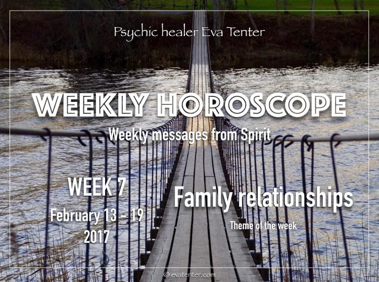 weekly horoscope week 7 2017